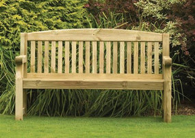 View the Athol 5ft Bench online at Scotbark UK